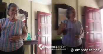 (Vídeo) Tierna abuela de Tilarán enfrenta la pandemia bailando en su casa - amprensa.com
