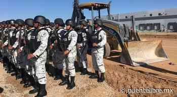 4 cuarteles y 600 elementos de la Guardia Nacional para Juárez - Puente Libre La Noticia Digital