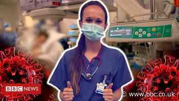 Coronavirus: Junior doctor keeps pandemic video diary