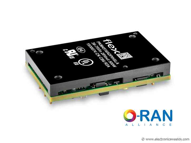 O-RAN compatible DC/DC converters for RFPA