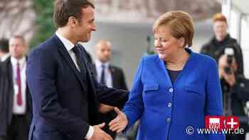 Angela Merkel nimmt eine besondere Schlüsselrolle in der EU ein - WR