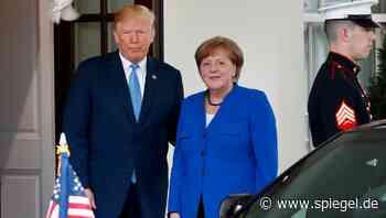 Laut CNN-Bericht: Trump beleidigte Merkel - DER SPIEGEL