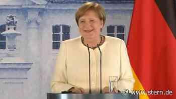 Video: Angela Merkel erklärt, warum man sie nie mit Schutzmaske sieht - STERN.de