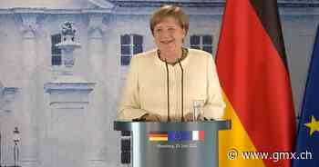 Auch Angela Merkel trägt Maske - GMX.ch