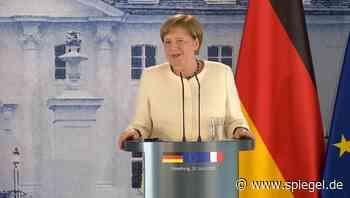 """Merkel und die Masken-Frage: """"Ich werde nicht verraten, wo ich einkaufen gehe"""" - DER SPIEGEL"""