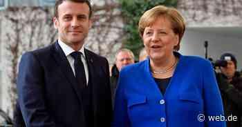 LIVE: Angela Merkel und Emmanuel Macron nach ihrem Treffen auf Schloss Meseberg - WEB.DE News