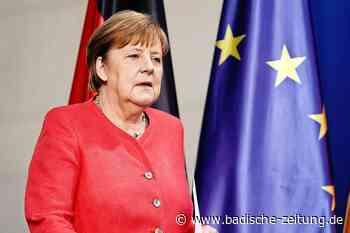 Angela Merkel und ihr europäisches Finale - Deutschland - Badische Zeitung