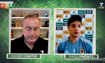 Raul Jimenez welcomes transfer talk as Wolves slap £90m price tag on star