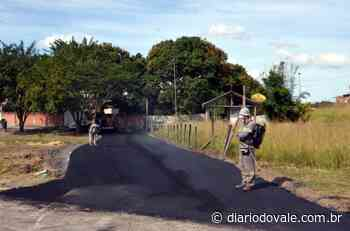 Ruas de Porto Real recebem serviços de pavimentação da prefeitura - Diario do Vale