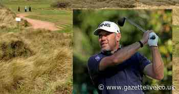 Pro golfer Lee Westwood graces Teesside club with his swing