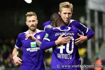 In januari mocht hij nog vertrekken bij Anderlecht, nu gaat hij een nieuw meerderjarig contract tekenen - Voetbalkrant.com