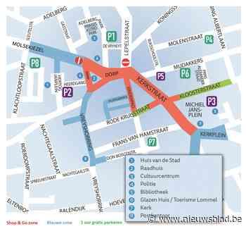 Nieuw parkeerbeleid in het centrum van Lommel (Lommel) - Het Nieuwsblad