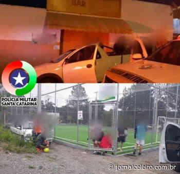 PM de Campos Novos autua bar e participantes de partida de futebol por desrespeito à decreto que proíbe aglomeração - Jornal O Celeiro