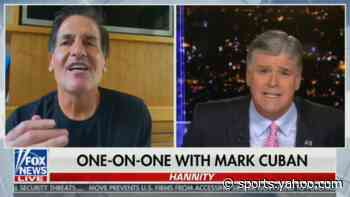 Mark Cuban calls out Hannity in fiery interview: 'You gave Donald Trump the ultimate softball questions' - Yahoo Sports