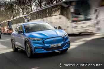 Ford Mustang Mach-E, il SUV elettrico guadagna più potenza - QN Motori - QN Motori
