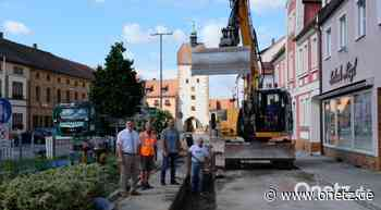 Marktplatz Vilseck bald keine Großbaustelle mehr - Onetz.de