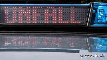 Unfall bei Gerstetten: 18-Jähriger prallt beim Überholen in Gegenverkehr - Heidenheimer Zeitung