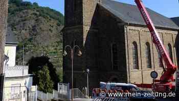 Dieblicher Pfarrkirche: Sanierung im Zeitplan - Koblenz & Region - Rhein-Zeitung