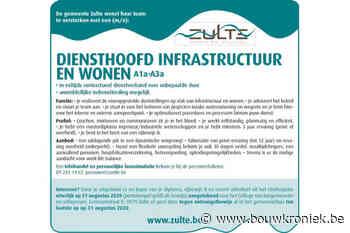 Gemeente Zulte: diensthoofd infrastructuur en wonen - Bouwkroniek