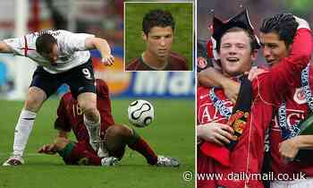 The day all of England called Cristiano Ronaldo a 'winker' after getting Wayne Rooney sent off