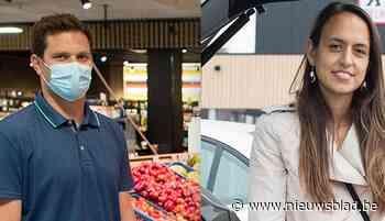 """Wat vinden ze in de supermarkt zelf van de verwarring rond mondmaskerplicht: """"Weten de mensen nog wat te doen?"""""""
