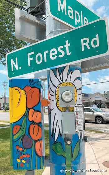 Town approves extension of Art on Signal Boxes initiative - Amherst Bee