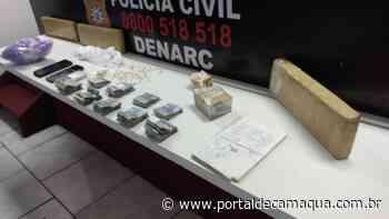 Gerente de ponto de Tráfico de drogas no bairro Santos Dumont em São Leopoldo é preso em flagrante - Portal de Camaquã