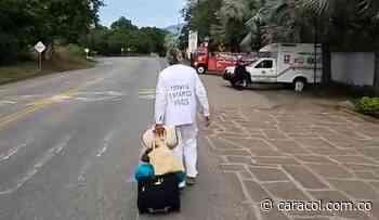 Una persona de 72 años enferma va a pie hasta Bogotá - Caracol Radio