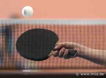 Tischtennis: Doppelte 4er-Tisch-Premiere in Erkner - Märkische Onlinezeitung