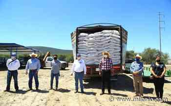 Apoya SDAyR a productores y ganaderos de San Luis de la Paz - Milenio