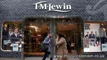 TM Lewin to close all shops after hit from coronavirus pandemic