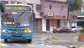 Circulação de ônibus é interrompida após tiroteio em Guaranhus - Folha Vitória