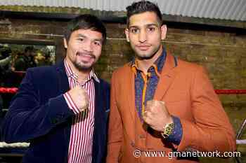 Amir Khan denies he was put to sleep by Manny Pacquiao in sparring - GMA News