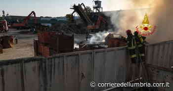 Perugia, incendio Biondi recuperi: dati rassicuranti sulla qualità dell'aria - Corriere dell'Umbria