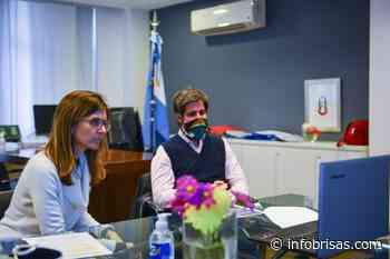 Raverta mantuvo un encuentro para potenciar el puerto de Mar del Plata - InfoBrisas