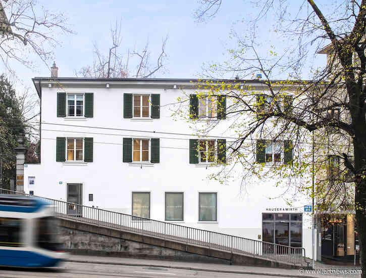 Expanding Its Presence in Switzerland, Hauser & Wirth Opens New Public Space inZurich