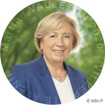 Municipales 2020 à Villepinte : Martine Vallenton a été réélue maire au second tour - actu.fr
