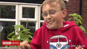 Second charity marathon for boy, 9, with cerebral palsy