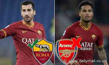 Arsenal's Henrikh Mkhitaryan set for permanent Roma switch, but Justin Kluivert swap deal collapses