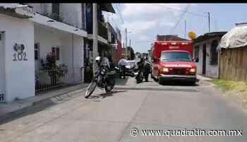 Balean a un motociclista tras resistirse a asalto en Uruapan - Quadratín Michoacán