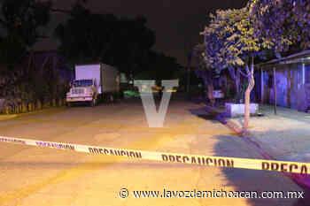 Hombre es muerto a tiros en la colonia La Mora, en Uruapan - La Voz de Michoacán