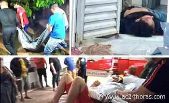 Criminosos invadem casas, matam um e deixam outro ferido em Rio Branco - ac24horas