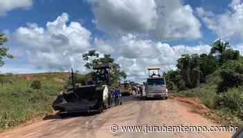 DNIT inicia obras de recuperação da BR-364 entre Rio Branco e Cruzeiro do Sul - Jurua em Tempo