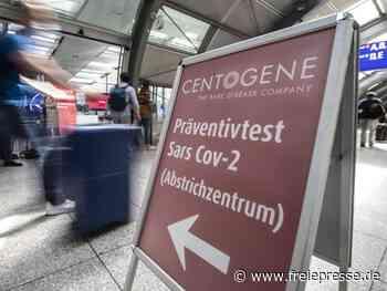 Corona-Testzentrum öffnet an Frankfurter Flughafen - Freie Presse