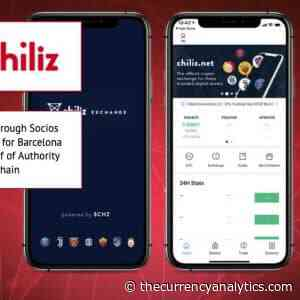 Chiliz (CHZ) Through Socios Already famous for FC Barcelona Fan Token Proof of Authority Side Chain - The Cryptocurrency Analytics
