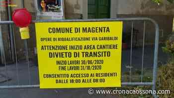 """Il cantiere di via Garibaldi a Magenta: """"La mossa finale per affossare il commercio"""" - Co Notizi ... - CO Notizie - News ZOOM"""