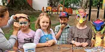Zuckertütenfest in Zinnowitz: Kita Weltenbummler improvisiert wegen Corona - Ostsee Zeitung