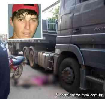 Motociclista cai e é atropelado por carreta em Domingos Martins, veja o vídeo - Portal Maratimba