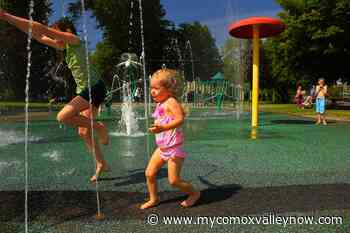 Comox and Courtenay spray parks reopening Friday - My Comox Valley Now