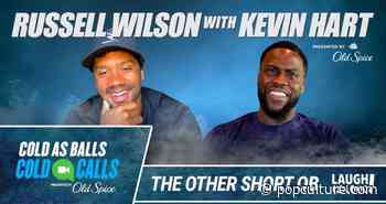 Russell Wilson Dives Deep on Quarantine, NFL Career During Kevin Hart's 'Cold As Balls: Cold Calls' - PopCulture.com